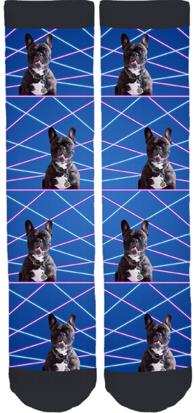 Sophie the Frenchie Crew Socks