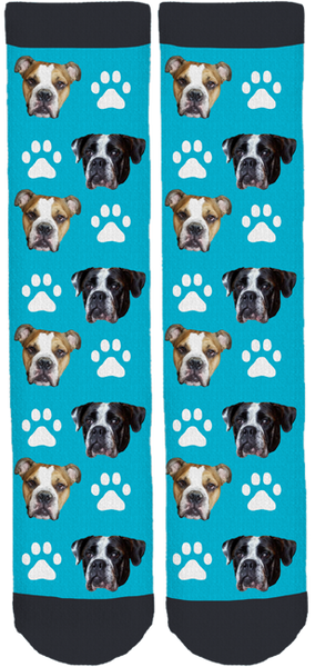Bristol and Gus Crew Socks