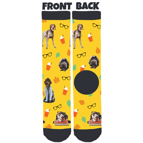 The Pointer Brothers Crew Socks