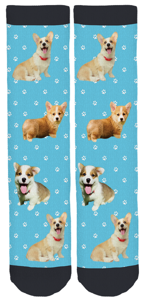 My Fav Corgi Crew Socks