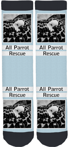 All Parrot Rescue Crew Socks