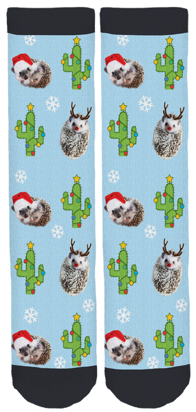 "Ollie and Pals ""hOLLIEday"" Socks"