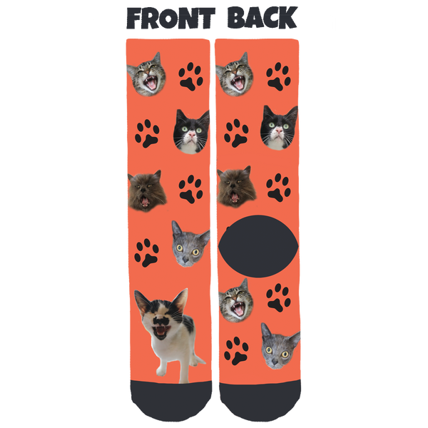 Wood County Humane Society Crew Socks
