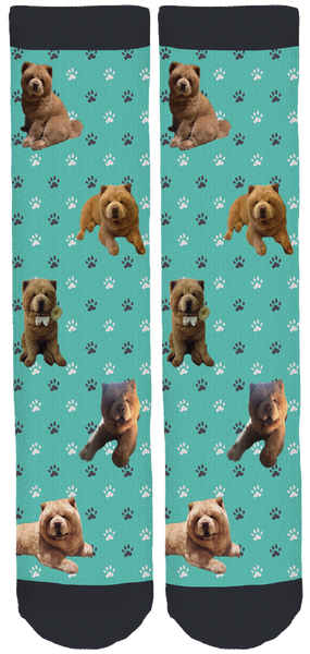 Chowder the Bear Dog Legacy Crew Socks