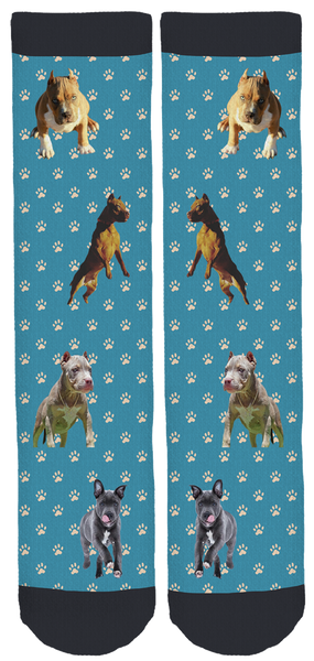 Limited Edition PitbullGalaxy Crew Socks