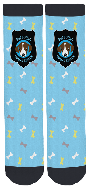 Pup Squad Animal Rescue Crew Socks
