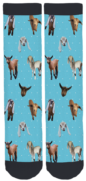 Puget Sound Goat Rescue Crew Socks