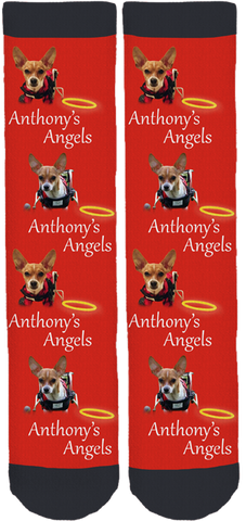 Anthony's Angels Crew Socks