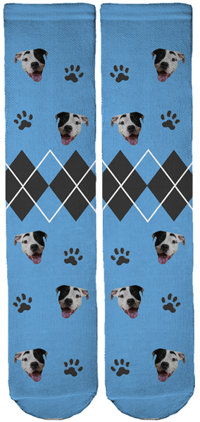 Rowdy The Pitbull Bamboo Crew Socks
