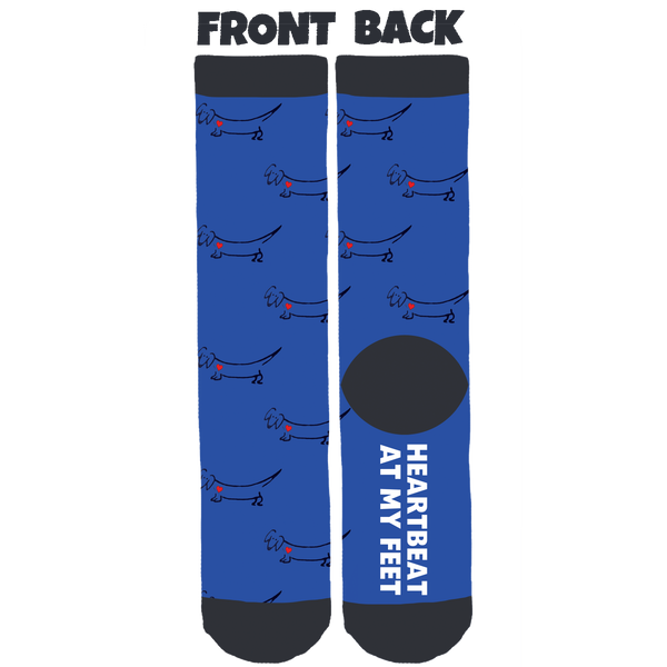 Getalong Dachshund Rescue Crew Socks