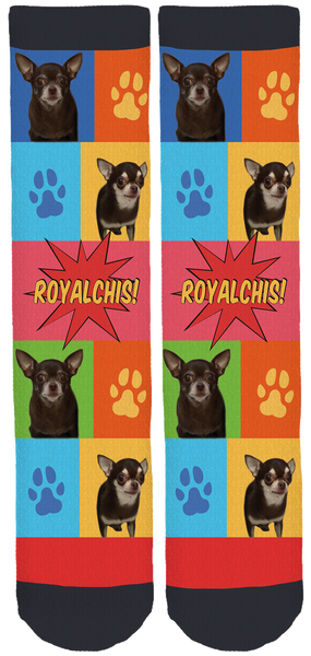 Limited Edition Royalchis Crew Socks