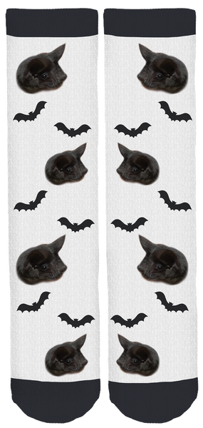 "Bat World Sanctuary ""Ernie"" Crew Socks"