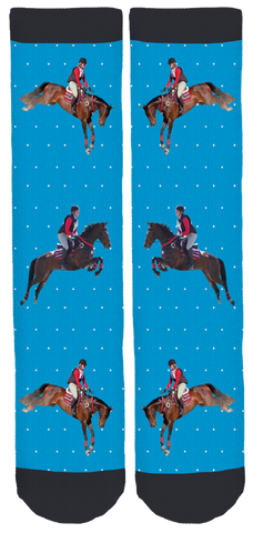Limited Edition Cruz and Ryleigh Bamboo Crew Socks