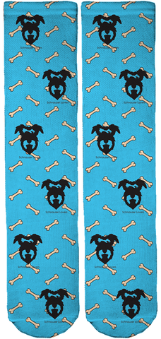 Limited Edition Schnauzer Lovers Crew Socks