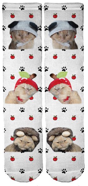 Limited Edition Simba The Fluffy Bamboo Crew Socks!