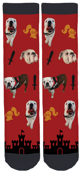 Sir Henry the English Bully Crew Socks