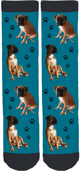 Skooter the Boxer Crew Socks