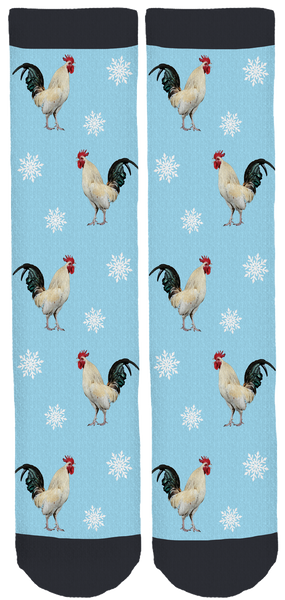 Sky's the Limit Sanctuary Holiday Crew Socks