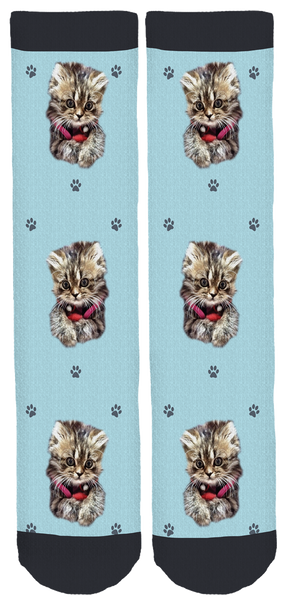 Smushball The Cat Crew Socks