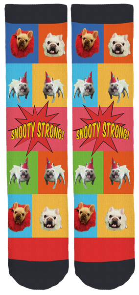 Limited Edition Snooty Giggles Dog Rescue Crew Socks