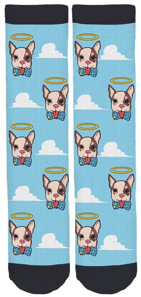 In Loving Memory Of Speedy Boy Crew Socks