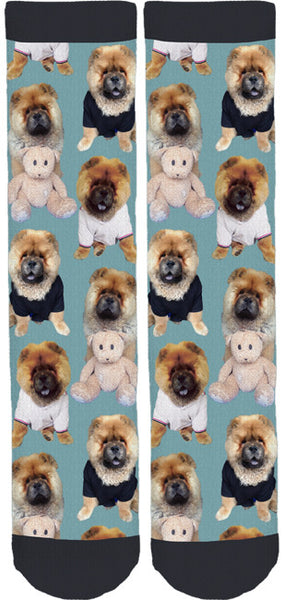 Spencer The Chow Crew Socks
