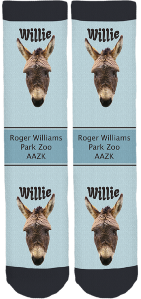 "Roger Williams Park Zoo AAZK ""Willie"" Socks"