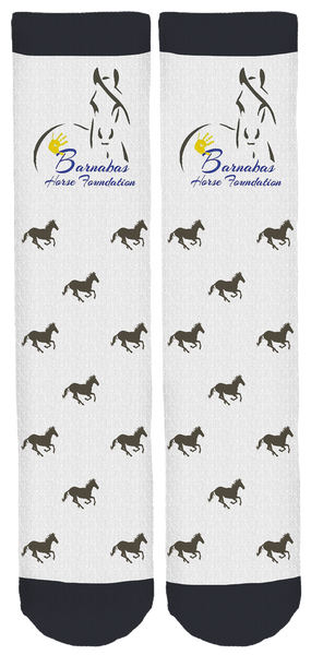 Barnabas Horse Foundation Crew Socks