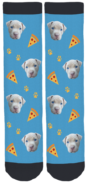 Baze the Pitbull Crew Socks