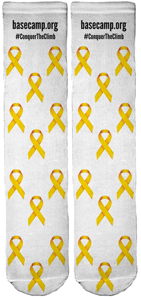 BASE Camp Children's Cancer Foundation Crew Socks