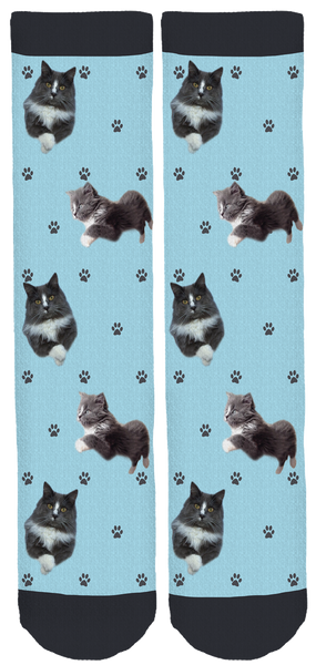 Conrad the Cat Crew Socks