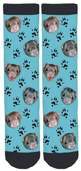 The Life of My Ferrets Crew Socks