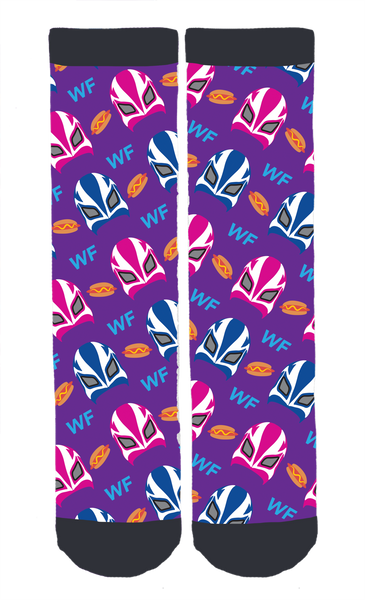 Wrestlin' Fred Crew Socks!