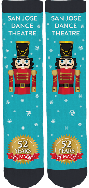 San Jose Dance Theatre Nutcracker Socks