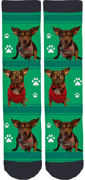 USA Furbabies Crew Socks