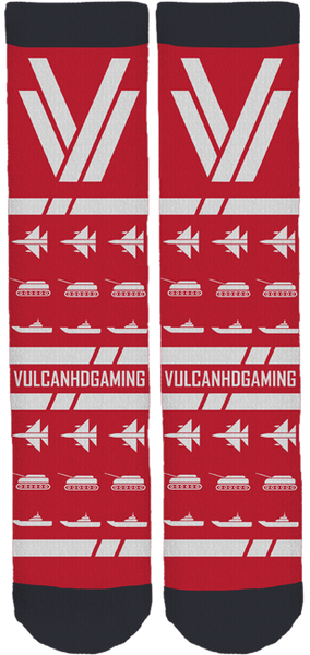 VulcanHDGaming Crew Socks