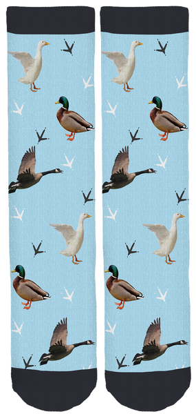 Carolina Waterfowl Rescue Crew Socks