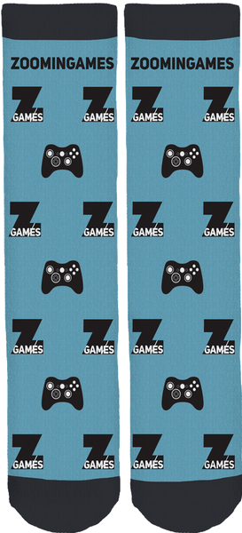 ZoominGames Crew Socks