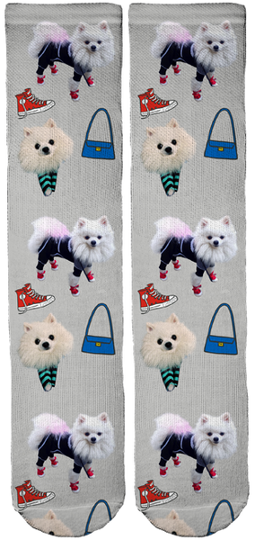 Limited Edition Zuzu Swag Crew Socks