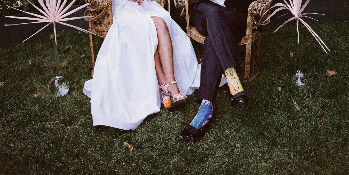 Quality Custom Socks For: Your Wedding Guests