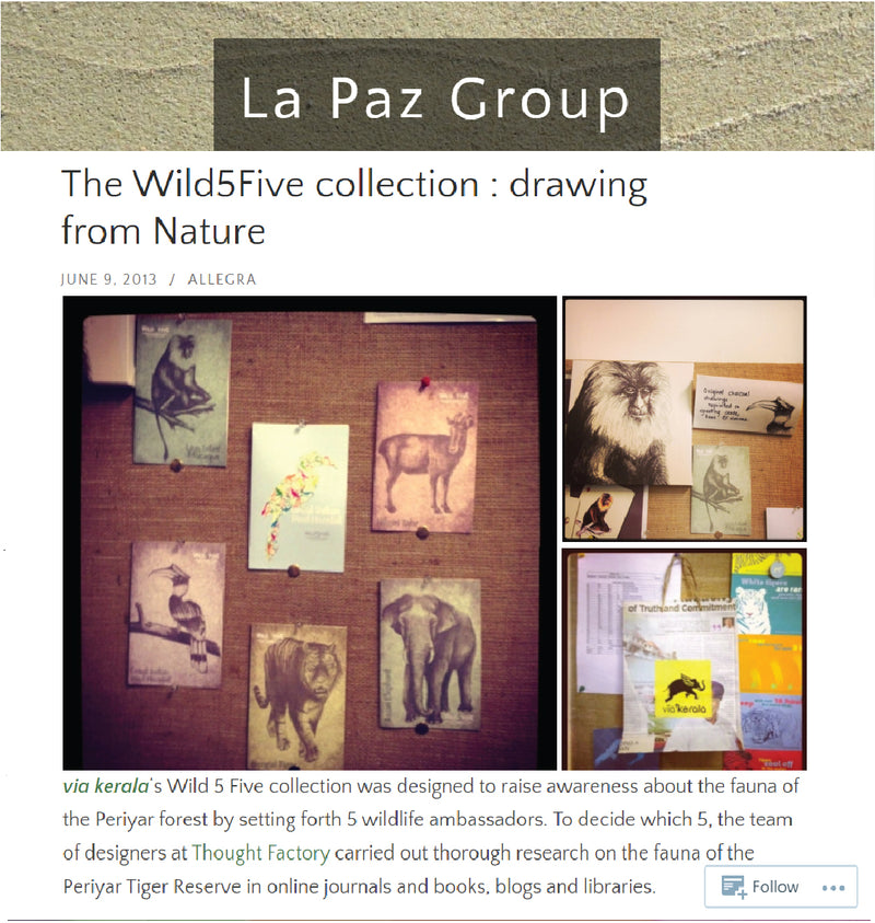 The Wild5Five Collection : Drawing from Nature