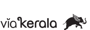 ViaKerala Flying Elephant Logo