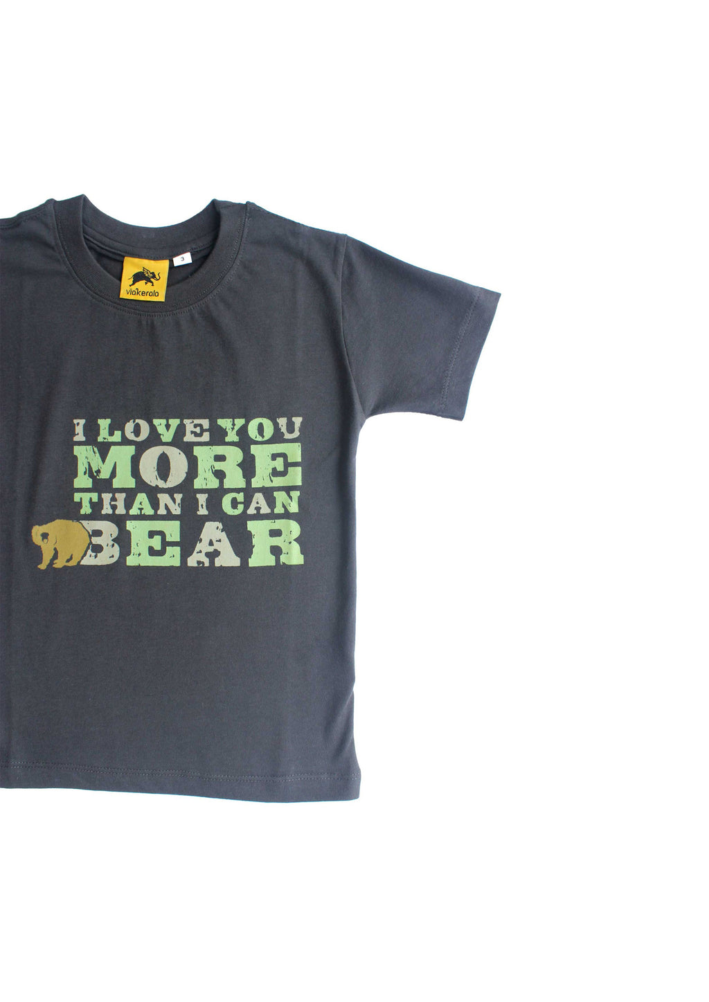 Kids Love Bear - Cotton T-shirt