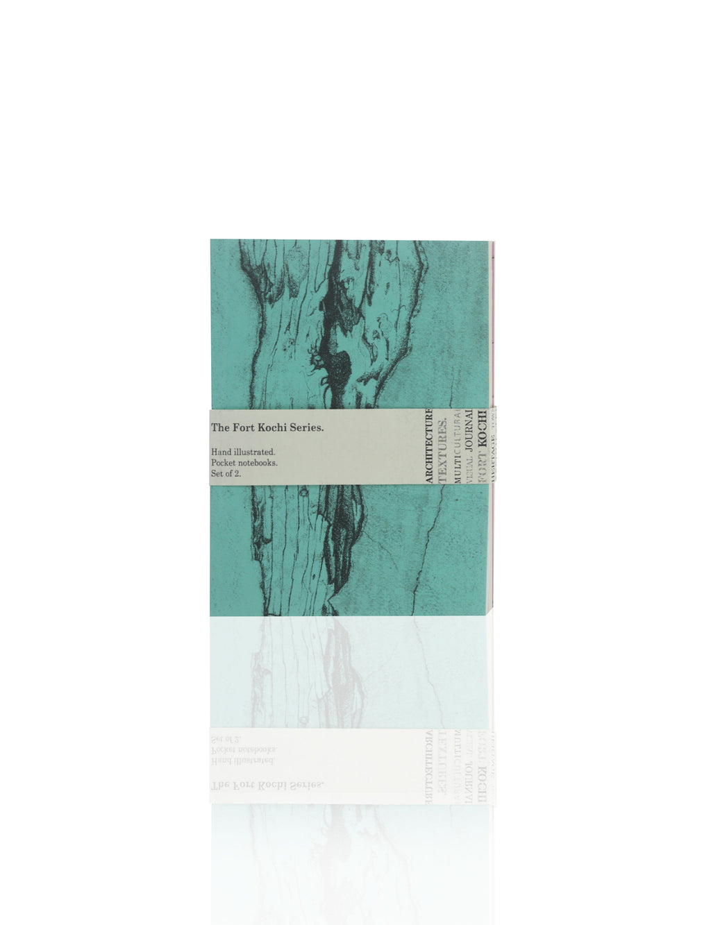 Fort Kochi Series Journals (Set of 2 - Aqua / Magenta)