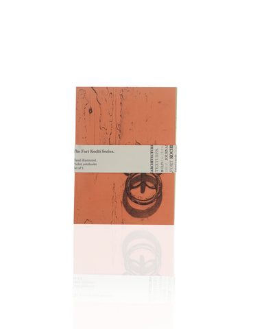 Fort Kochi Series Journals (Set of 2 - Orange / Green)