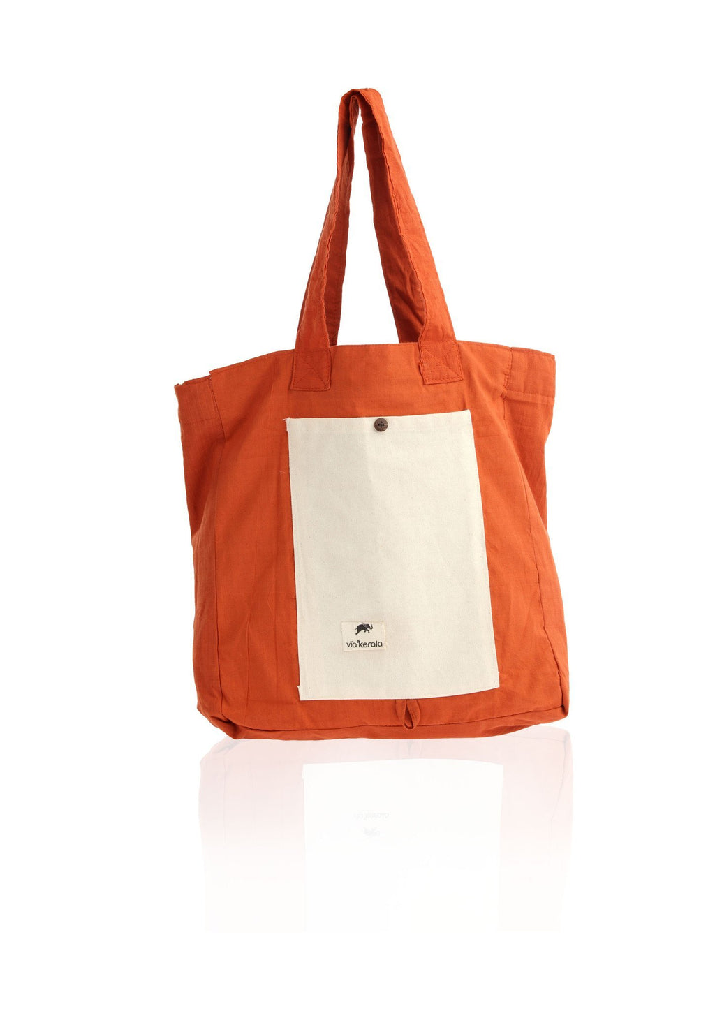 Cotton Kavi with Canvas - Folding Bag