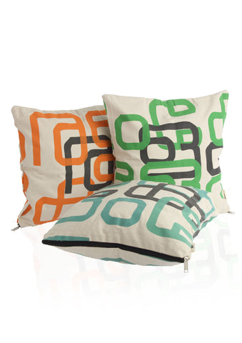 Ke-Ra-Lam Cushion Covers (Set of 3)