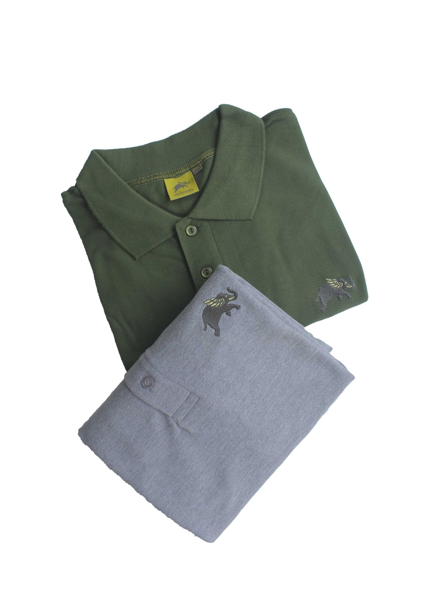 Polo Neck T-shirts
