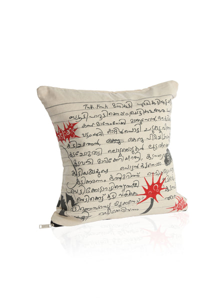 Vediketthu Cushion Cover