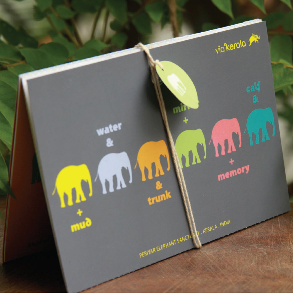 Elephant Wizard - Foldable Fact Book